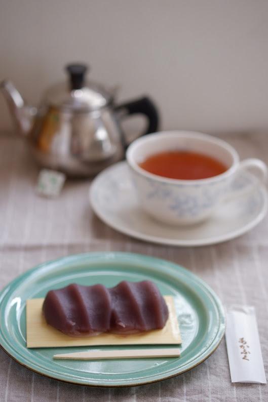 赤福と伊勢紅茶