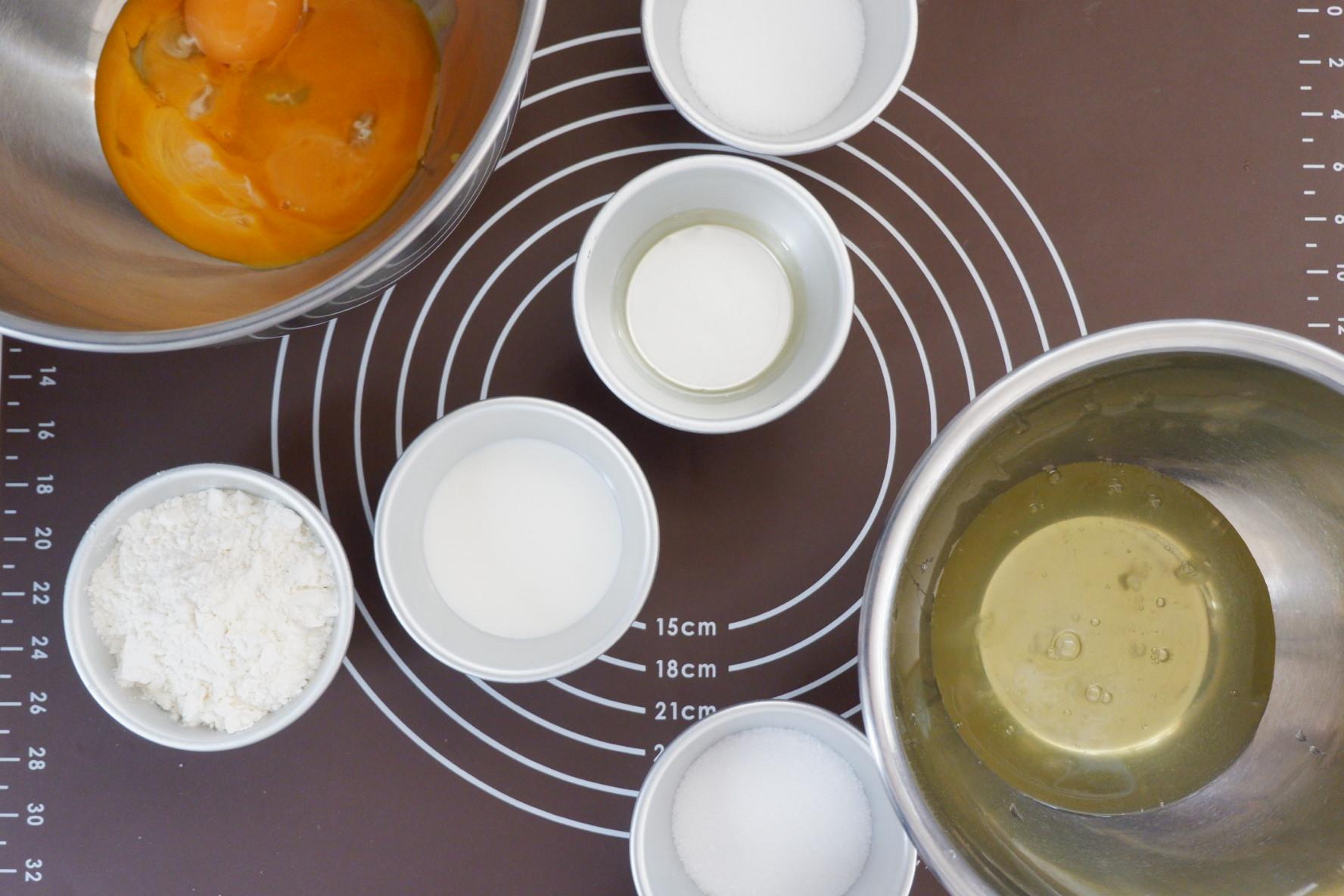 プレーンシフォンケーキの作り方