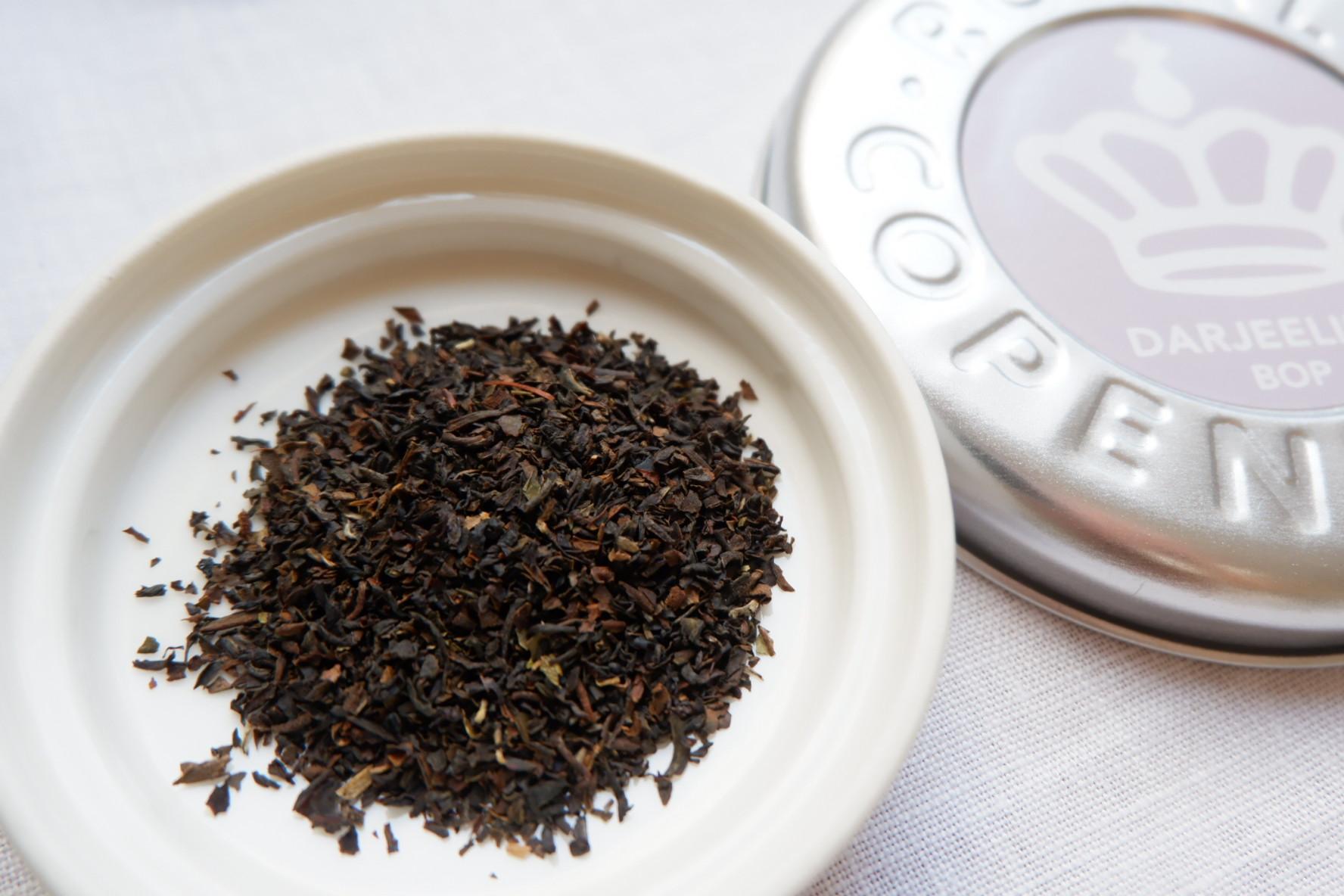 ロイヤルコペンハーゲンの紅茶ダージリン