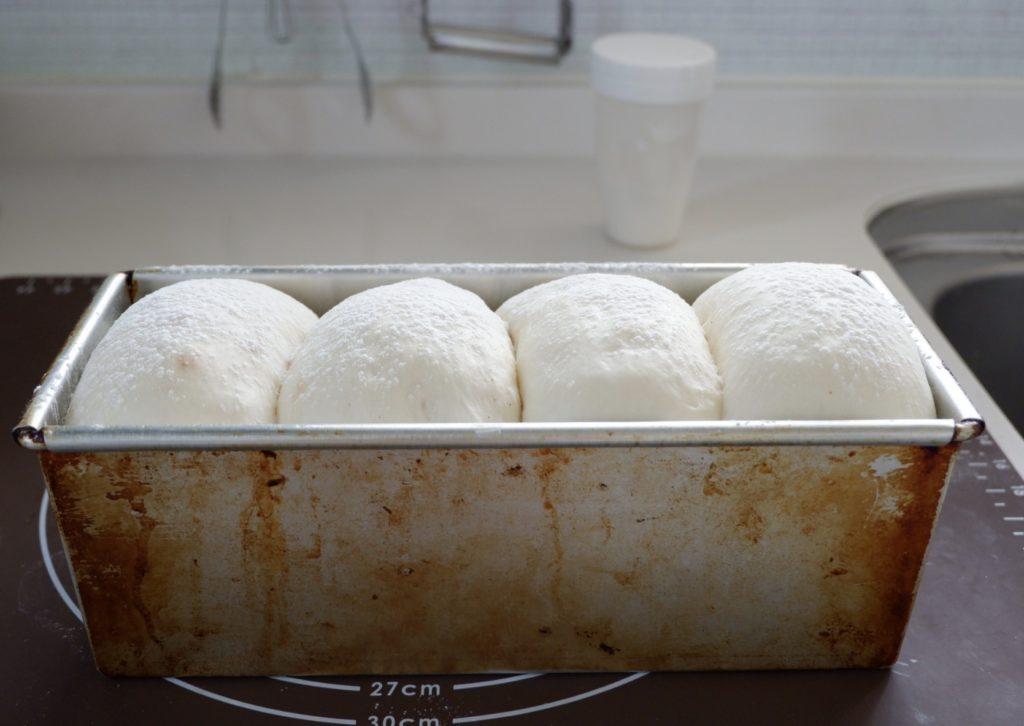 4種の山型食パン