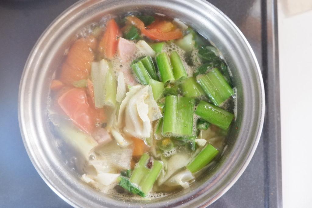 減塩&野菜たっぷりスープ
