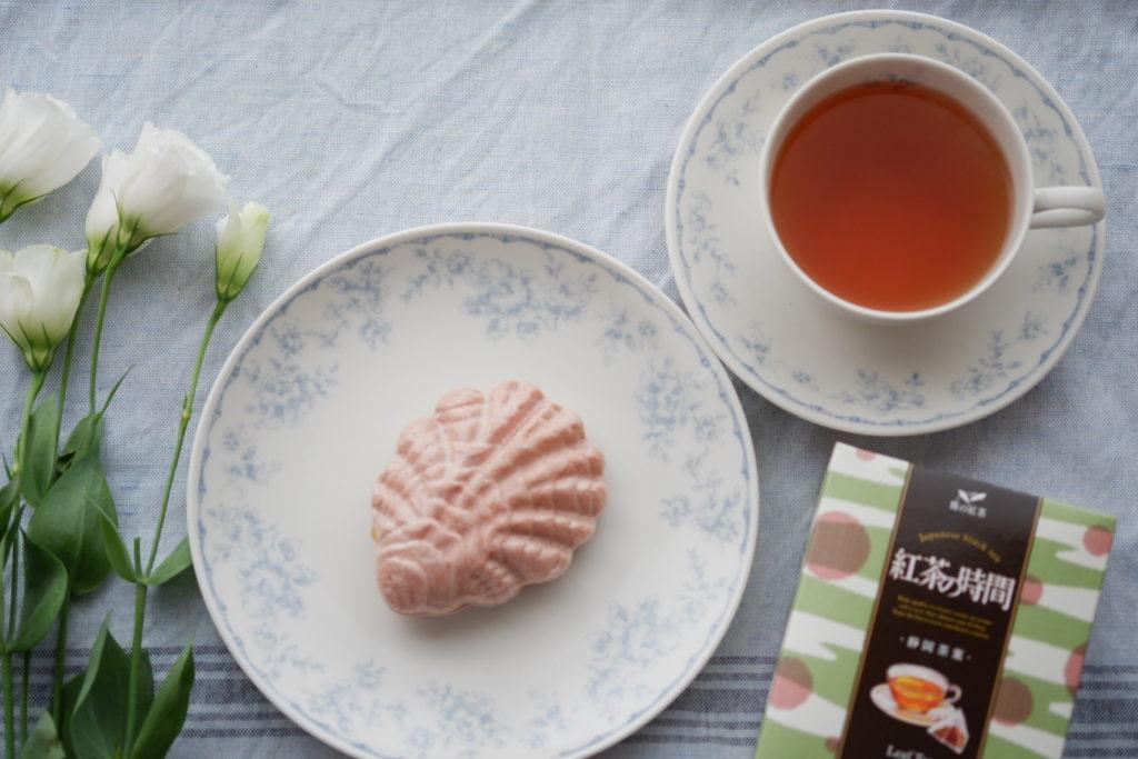 紅茶時間 牡蠣最中