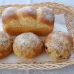 豆パン&小さな食パン