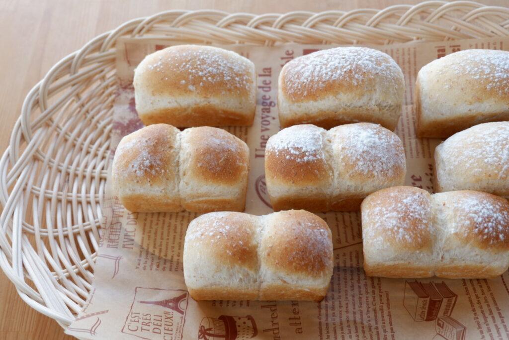 全粒粉ミニ食パン