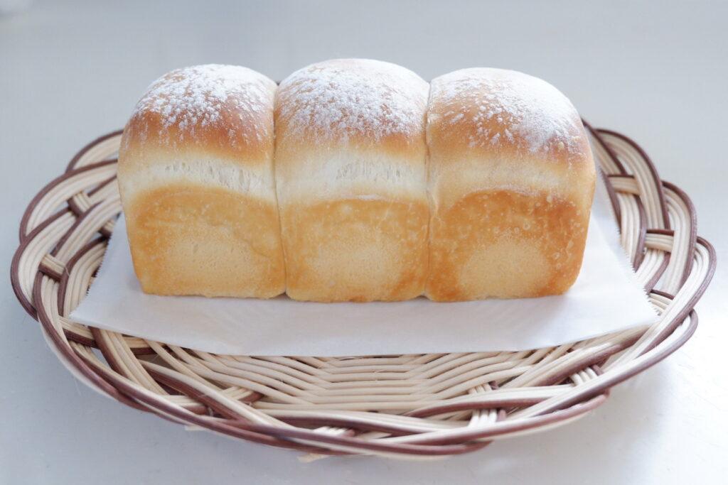 冷蔵発酵でミルク食パン