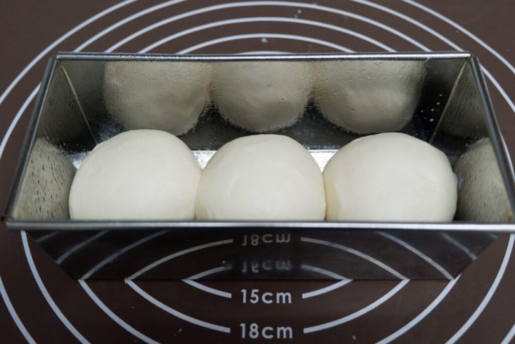 冷蔵発酵のミルク食パン