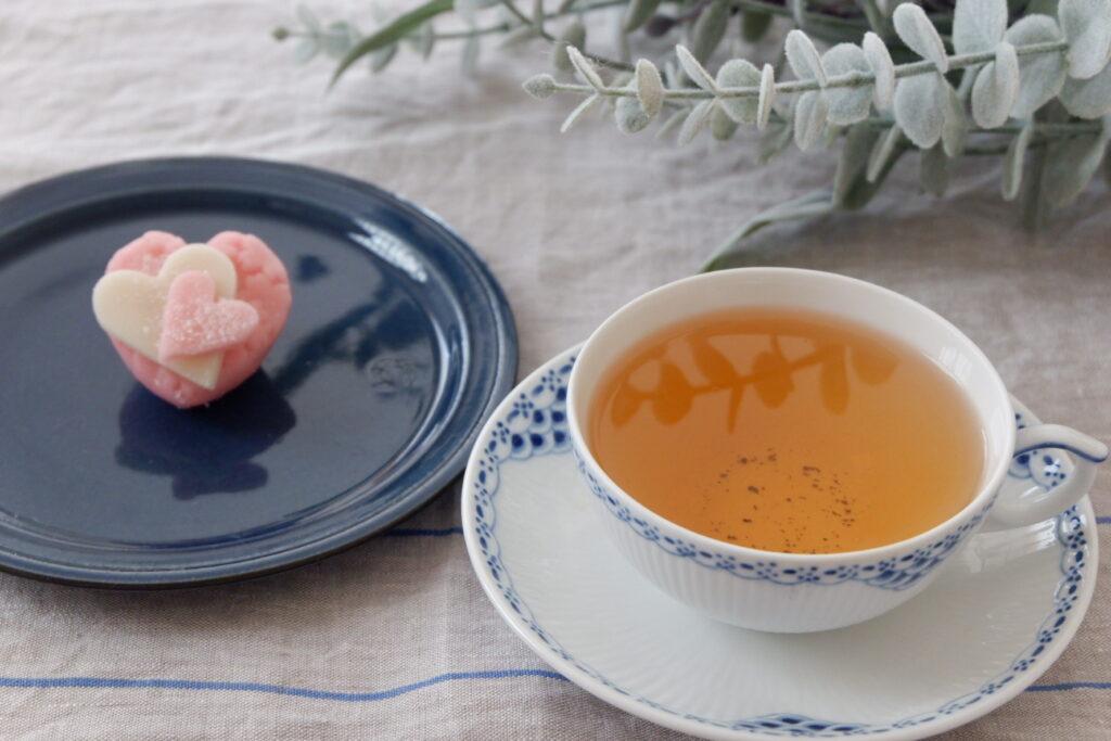 ダージリンと和菓子