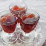 林檎と赤ワインのゼリー