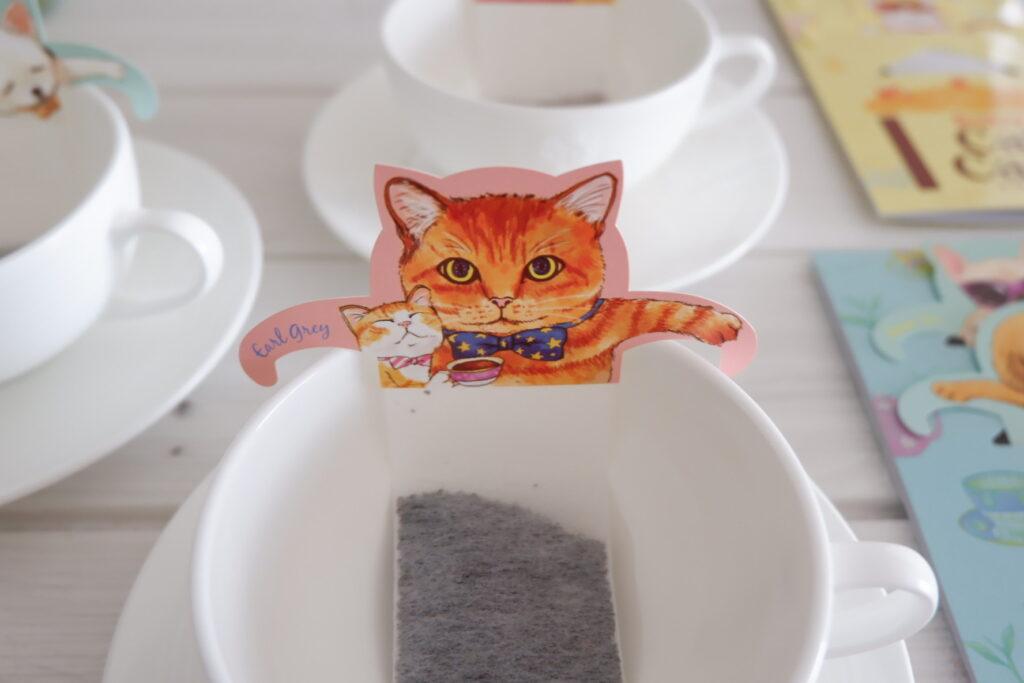 ネコ型ティーバッグ
