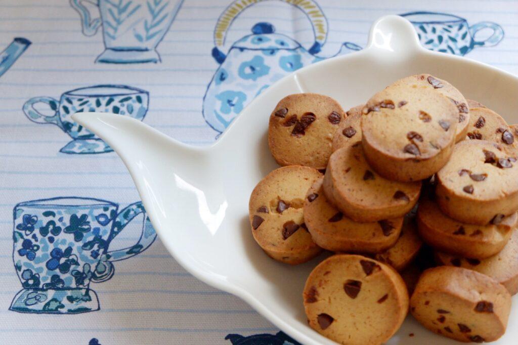 自家製酵母のチョコクッキー