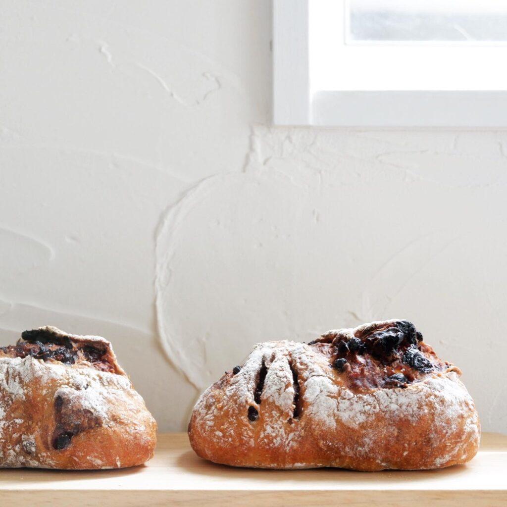 ベリーのパン