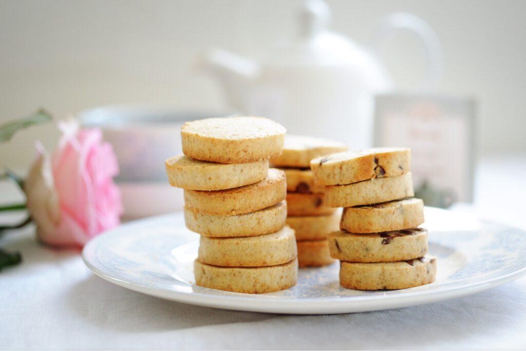 全粒粉入りライ麦酵母クッキー